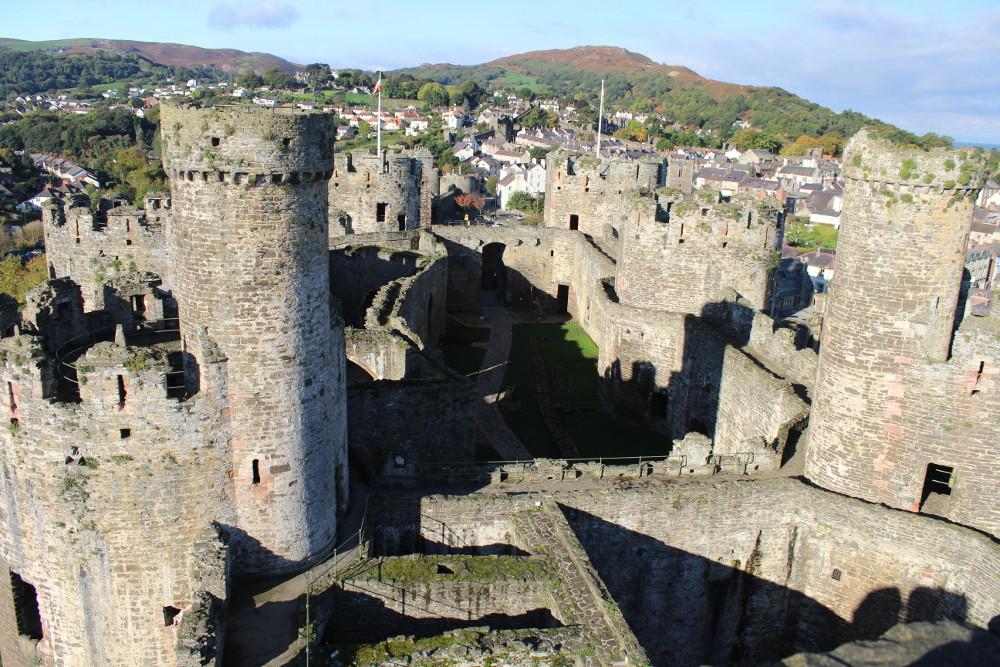Conwy Castle (Conwy, Wales)