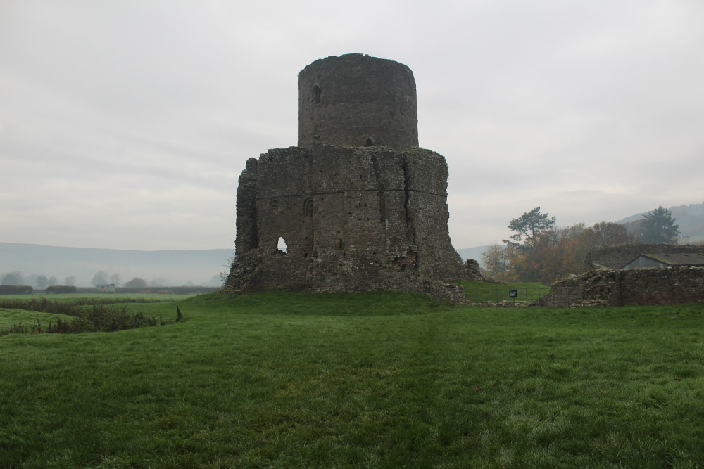 Tretower Castle (Powys, Wales)