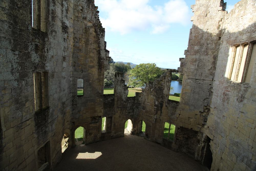 Old Wardour Castle Wiltshire Wessex