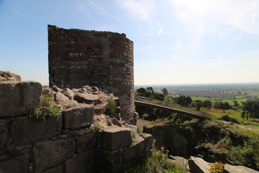 Beeston Castle Cheshire England