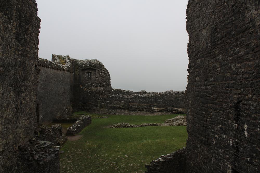 carreg cennen castle carmarthenshire wales