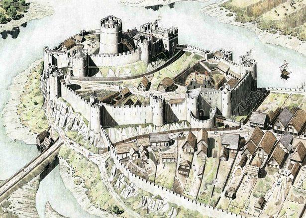 Pembroke Castle Reconstruction