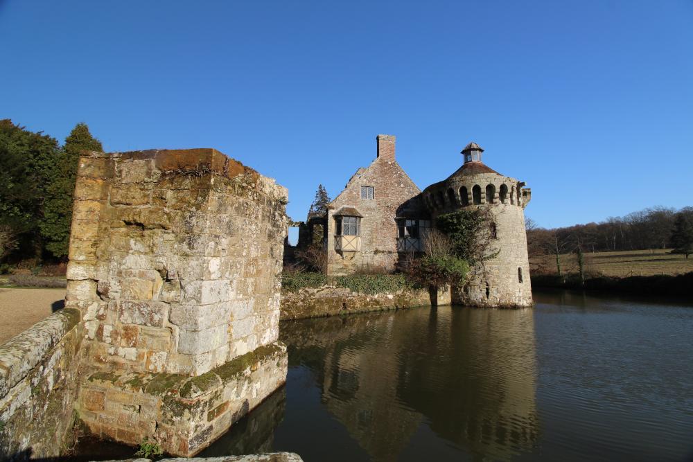 Scotney Old Castle Kent England