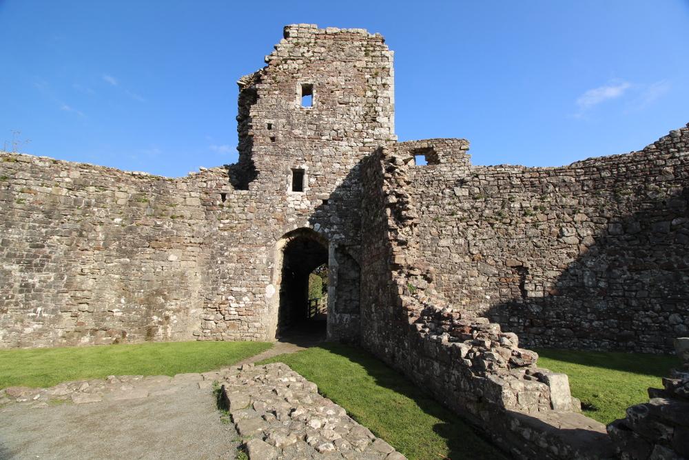 coity castle bridgend wales