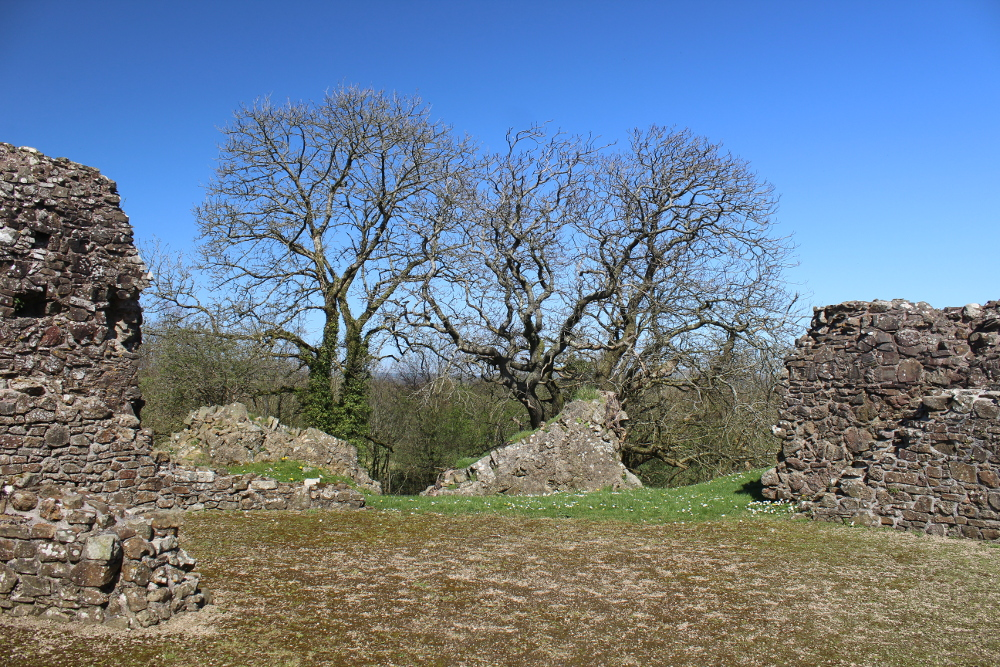 Wiston Castle (Pembrokeshire, Wales)