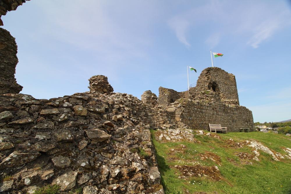 Criccieth Castle Gwynedd North Wales