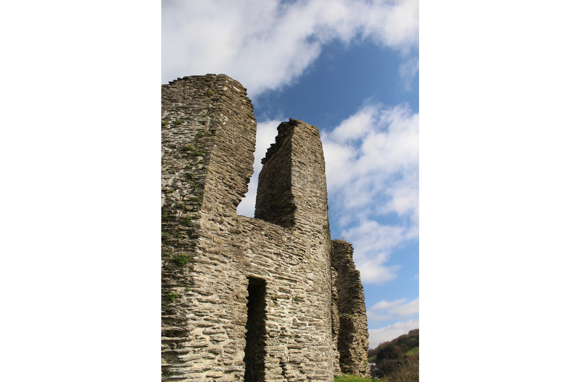Newcastle Emlyn Castle (Carmarthenshire, Wales)