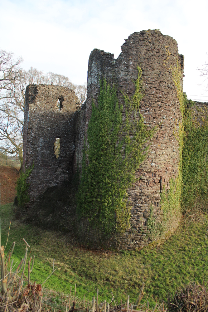 Grosmont Castle (Monmouthshire, Wales)