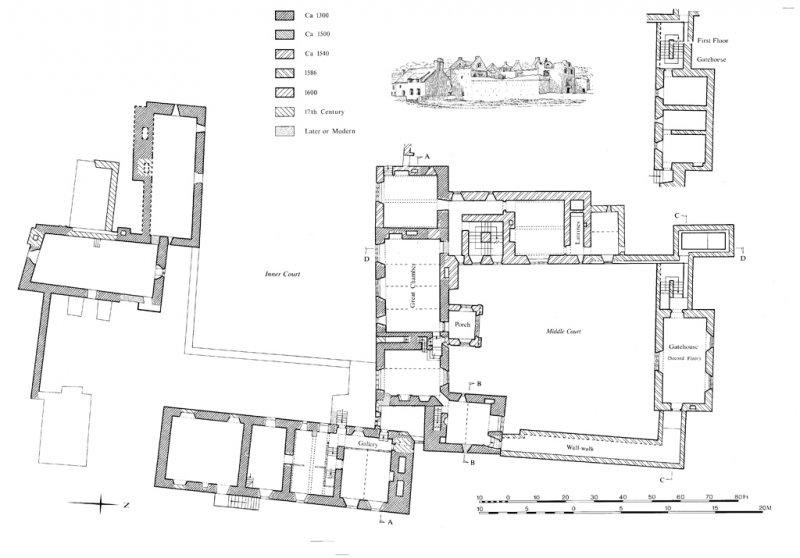 old beaupre site plan