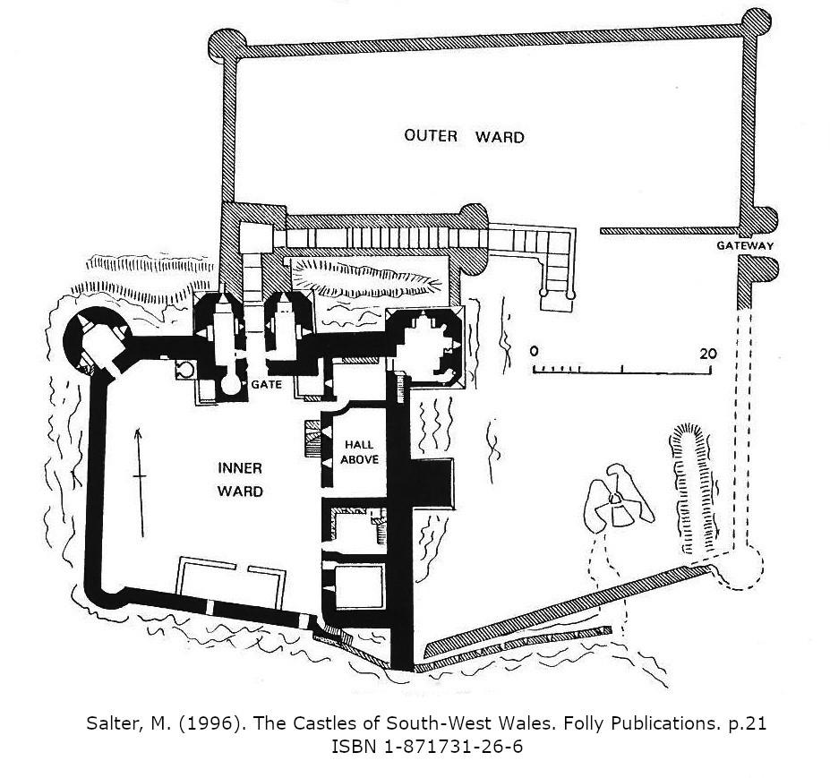 carreg cennen castle carmarthenshire