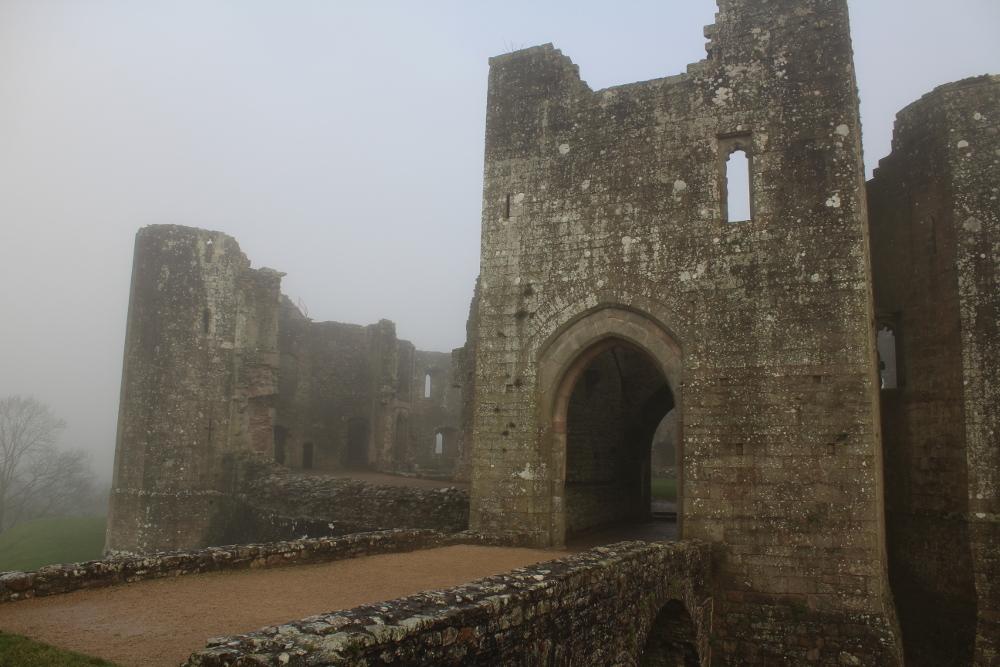 Raglan Castle Monmouthshire Wales