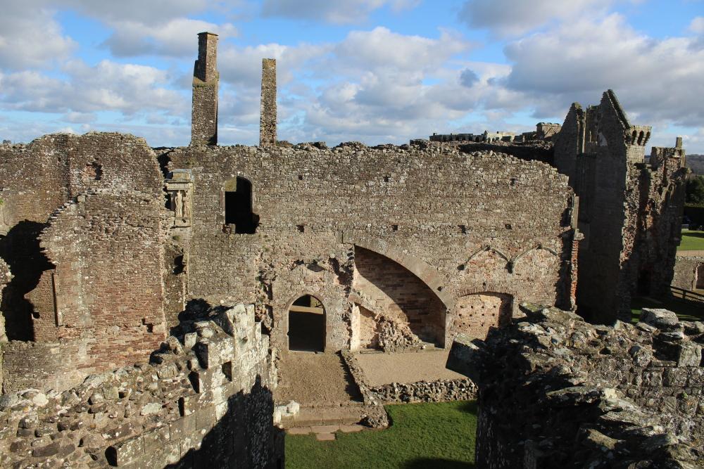 Raglan Castle (Monmouthshire, Wales)