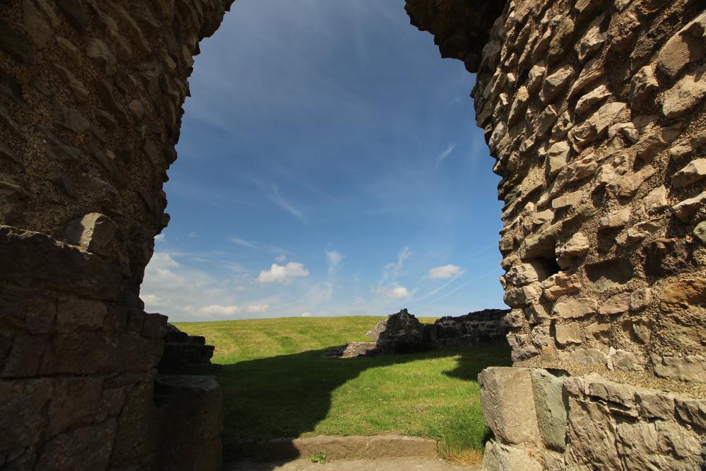Denbigh Castle Denbighshire Wales