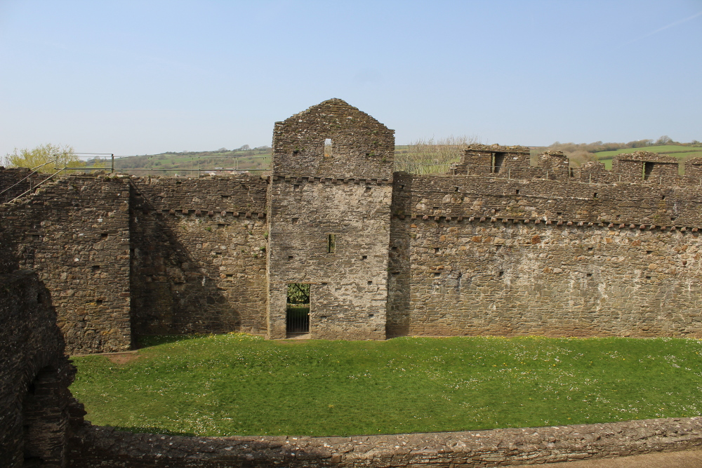 Kidwelly Castle (Carmarthenshire, Wales)