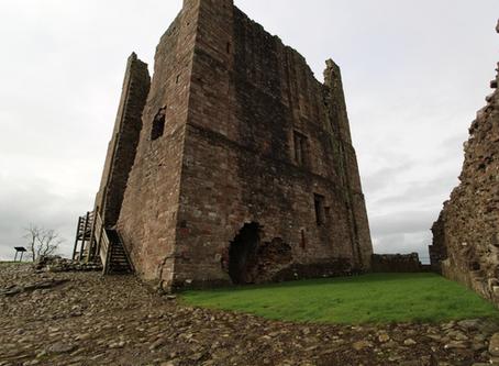 Brough Castle (Cumbria, North England)
