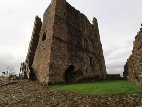 Brough Castle (Cumbria, North England)