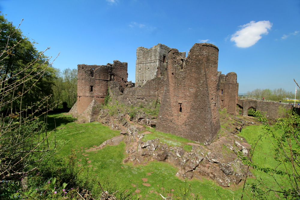 Goodrich Castle Herefordshire England