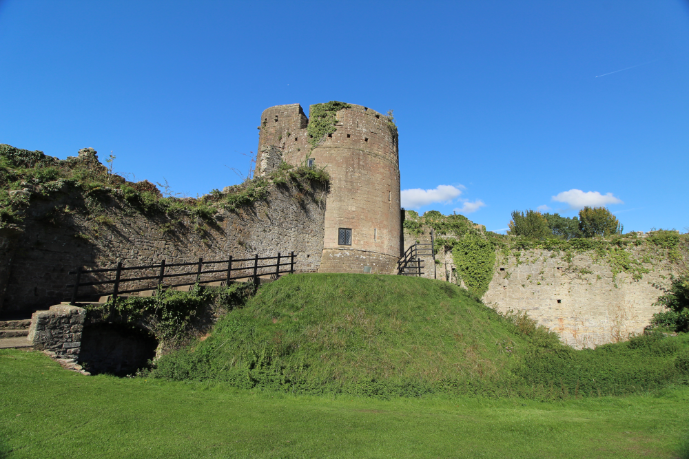 Caldicot Castle Monmouthshire Wales