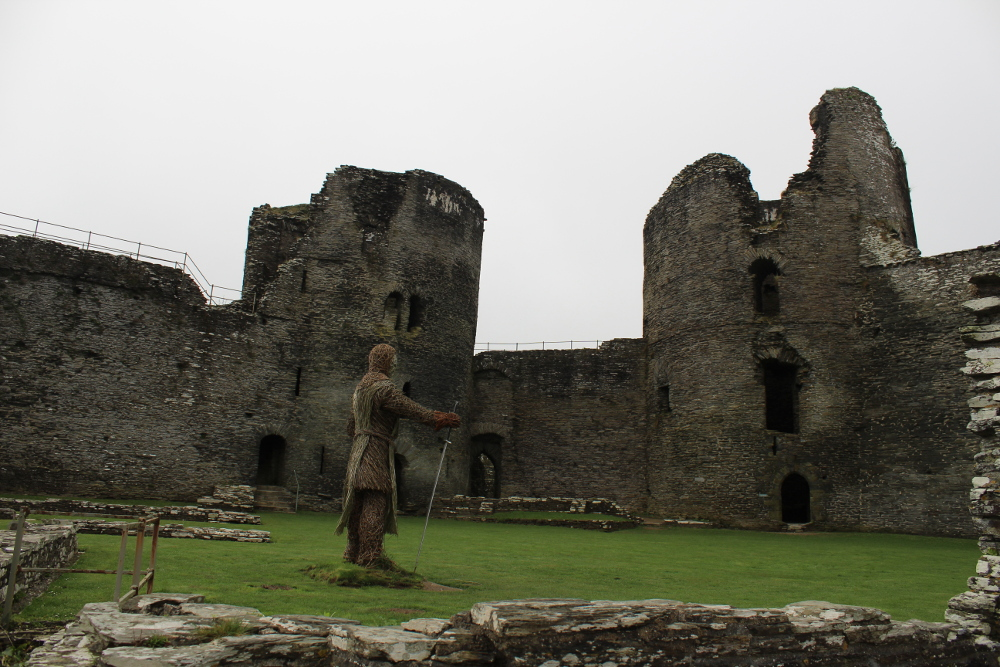 Cilgerran Castle (Pembrokeshire, South Wales)