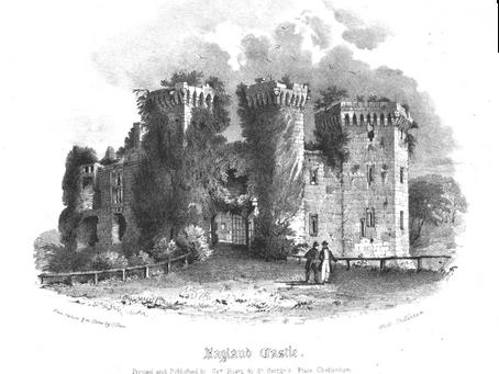 Raglan Castle Engravings (Monmouthshire, Wales)