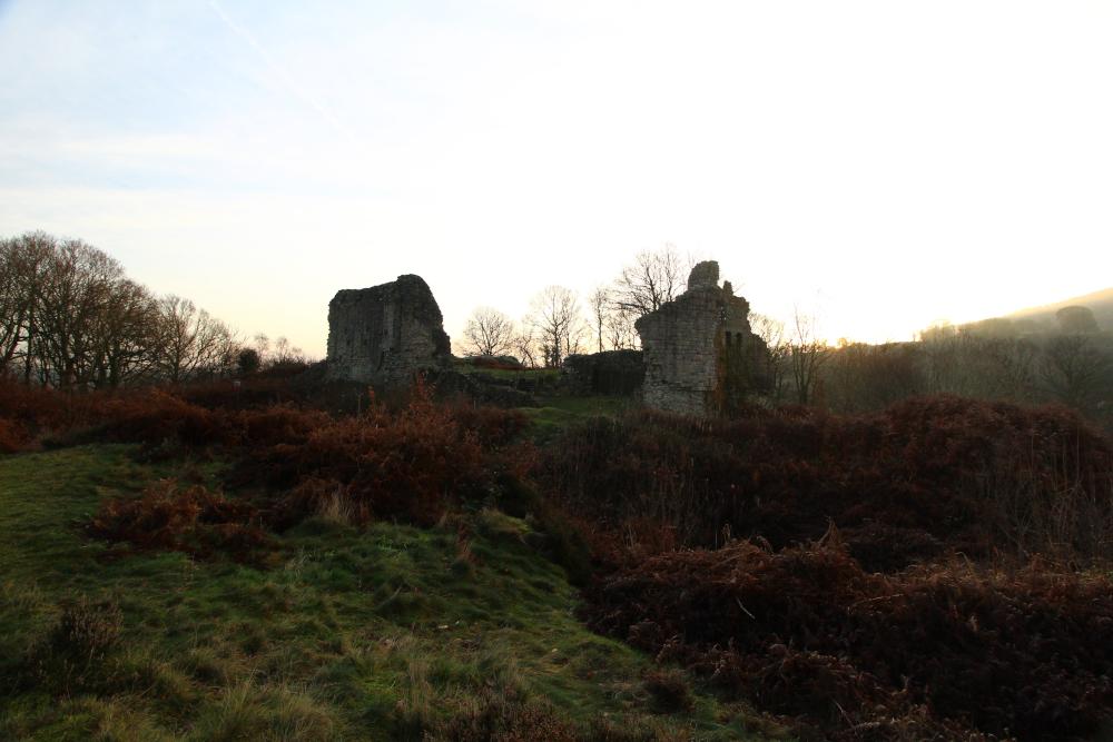 Caergwrle Castle Flintshire Wales