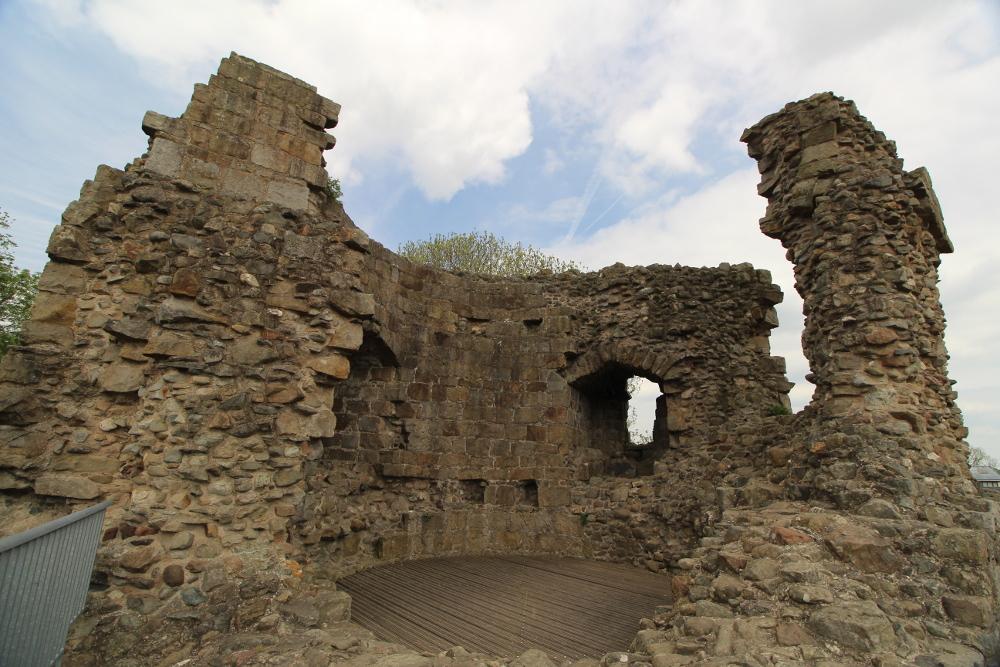 Whittington Castle Shropshire England