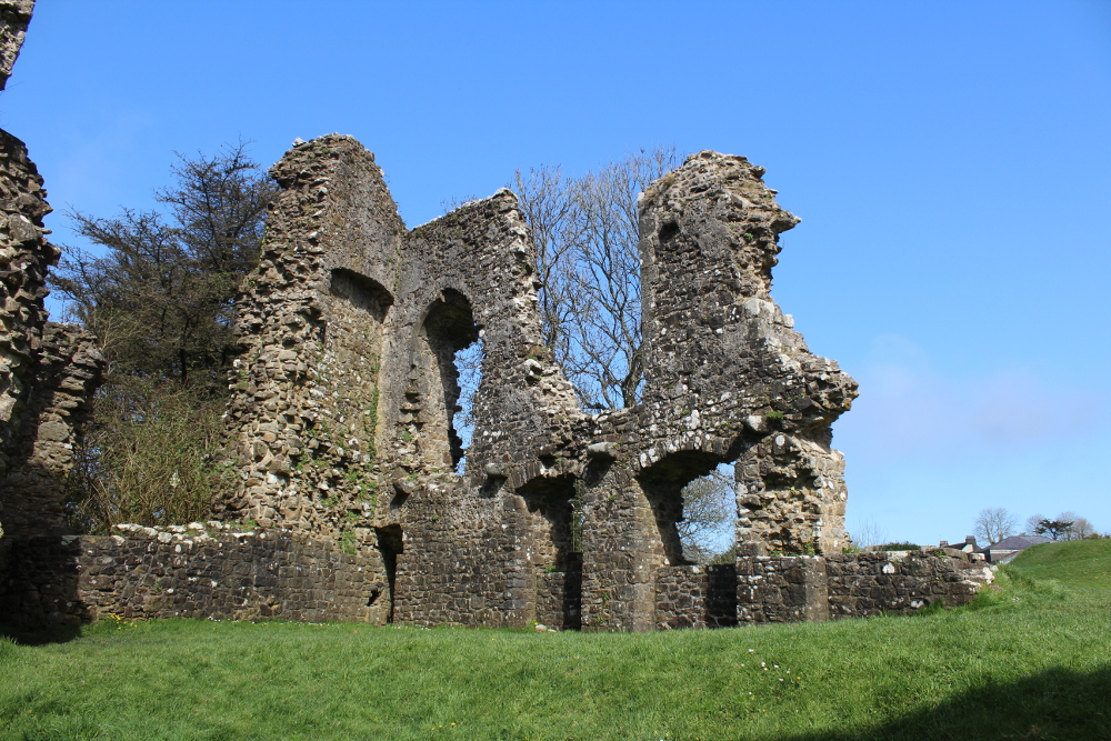 narberth castle pembrokeshire wales