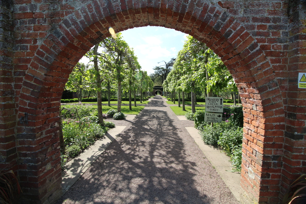 Hampton Court Castle And Gardens Herefordshire England