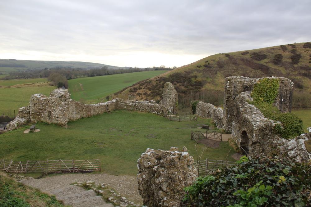 Corfe Castle (Dorset, England)