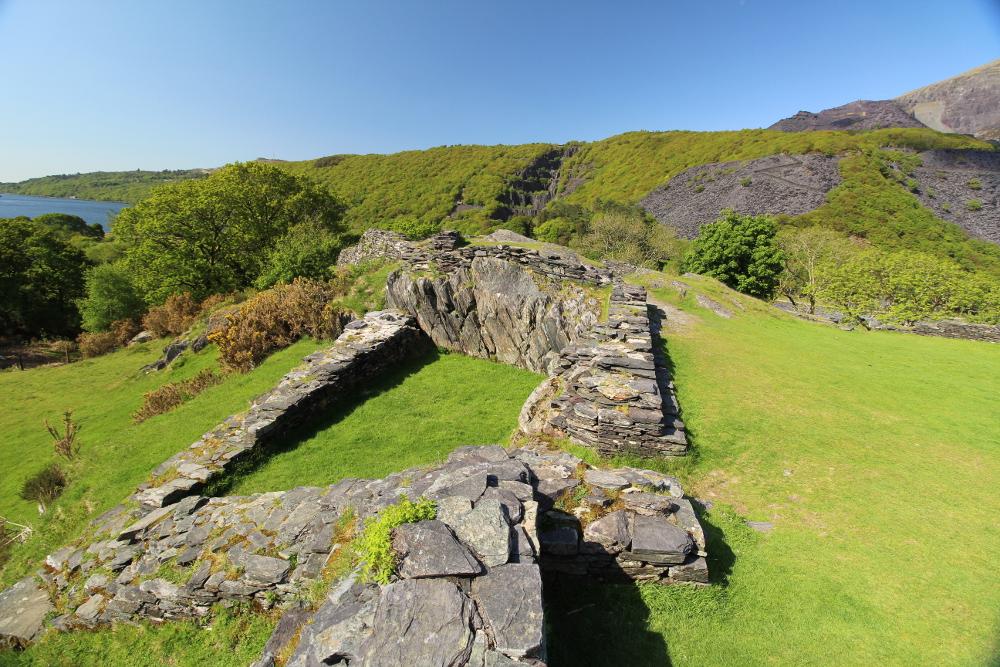 Dolbadarn Castle Gwynedd North Wales