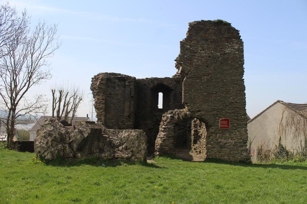 Loughor Castle Swansea South Wales