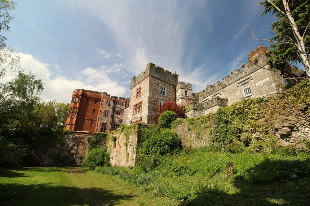Ruthin Castle Denbighshire Wales