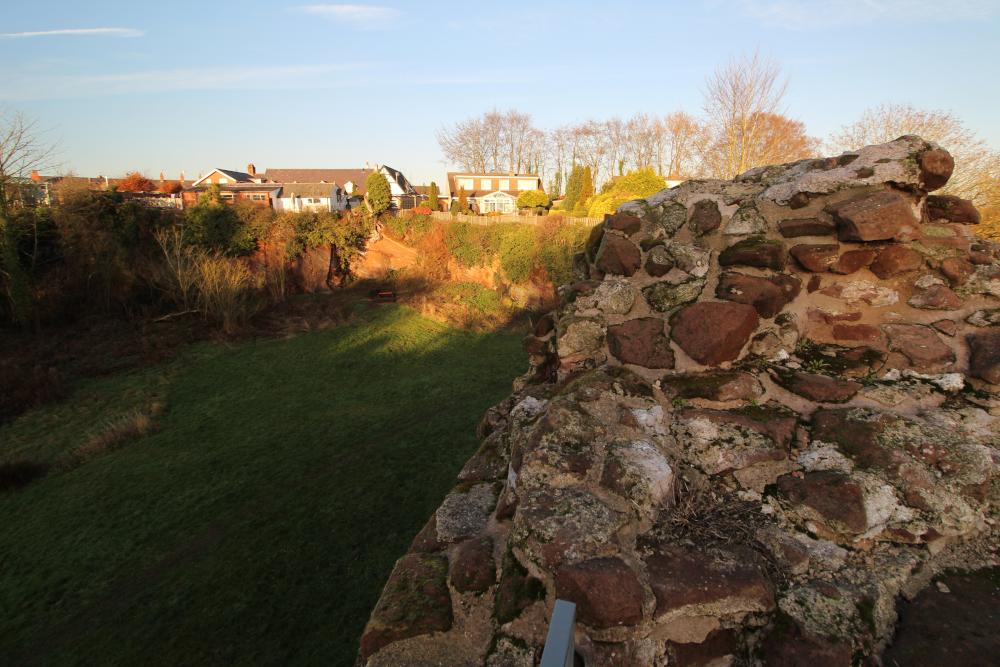 Holt Castle Flintshire Wales