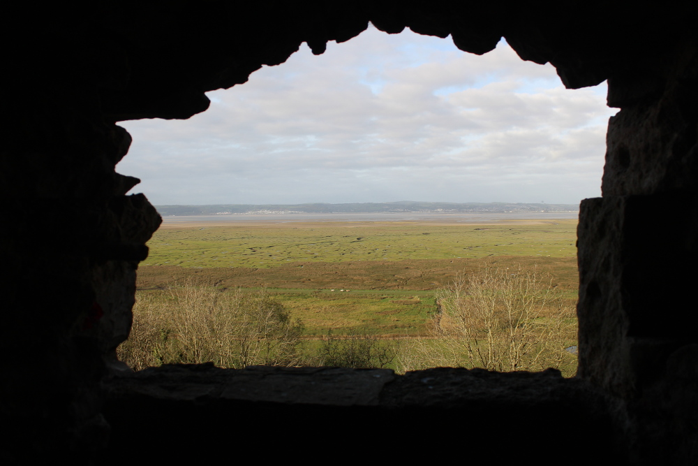 Weobley Castle (Gower, South Wales)