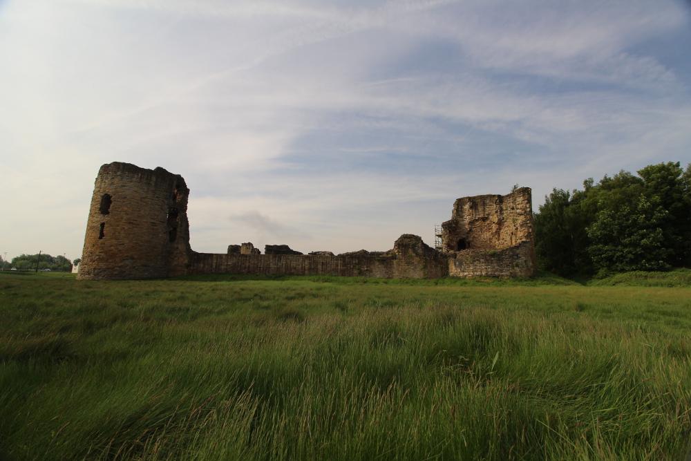Flint Castle Flintshire North Wales