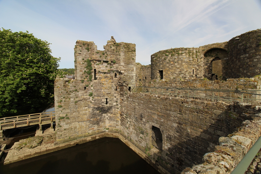 Beaumaris Castle Anglesey North Wales
