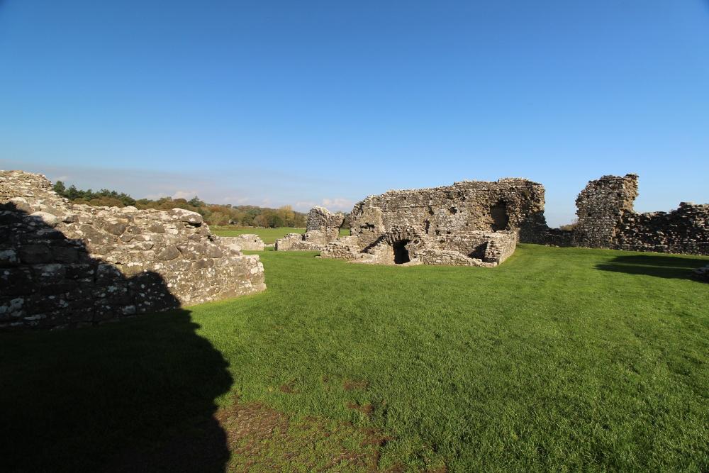 Ogmore Castle Glamorgan Wales