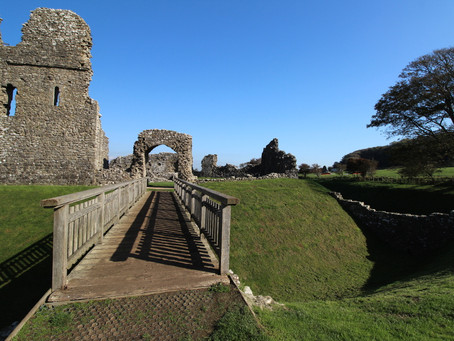 Ogmore Castle (Glamorgan, South Wales)