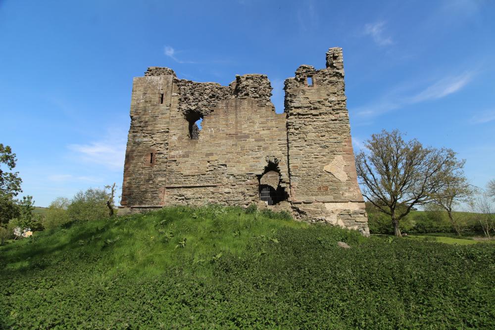 Hopton Castle Shropshire England
