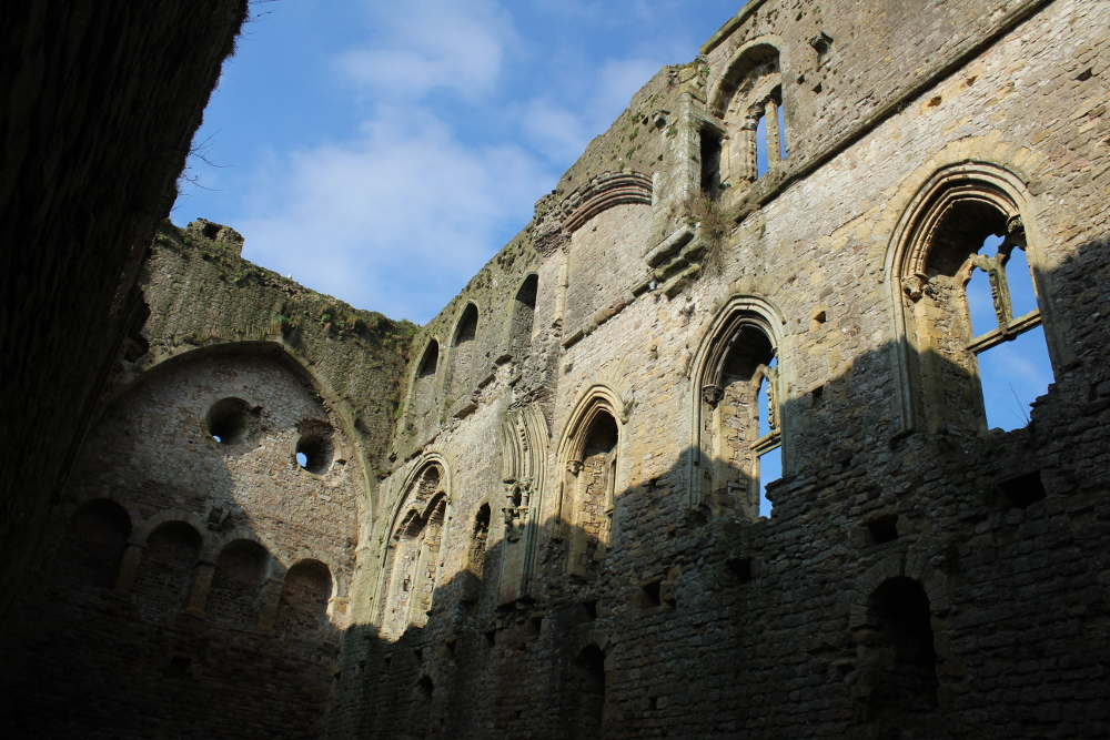 Chepstow Castle (Monmouthshire, Wales)