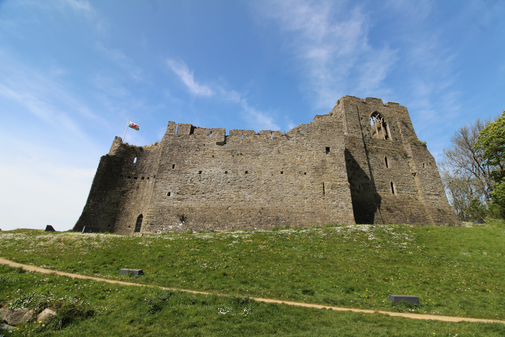 Oystermouth Castle Gower Peninsula