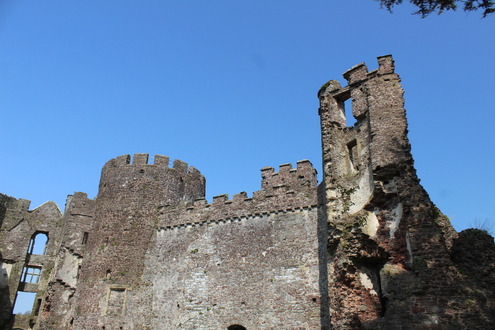 Laugharne Castle Pembrokeshire