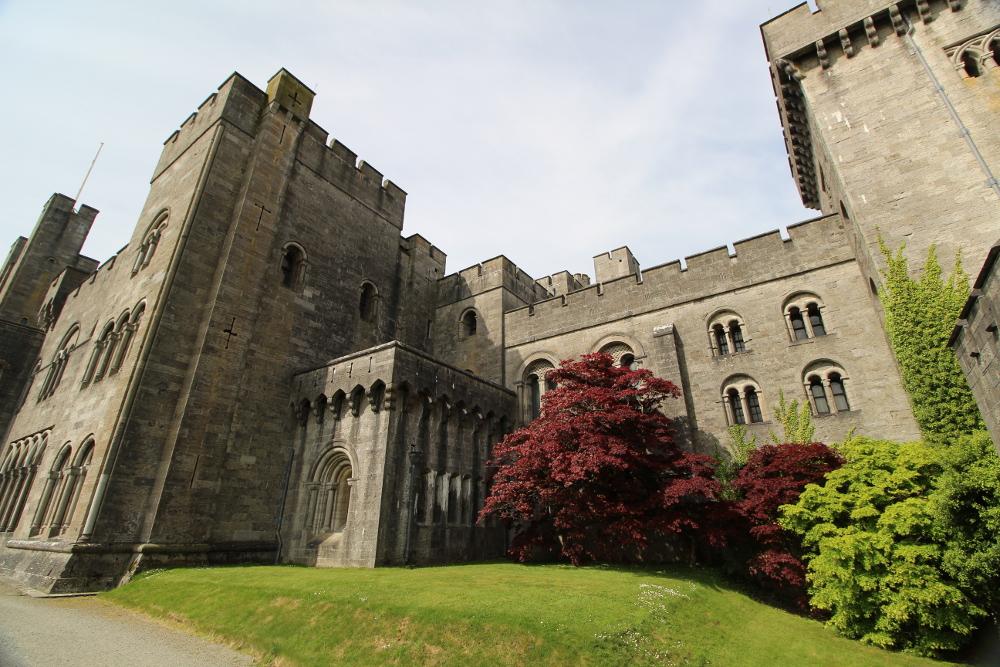 Penryhn Castle Gwynedd North Wales