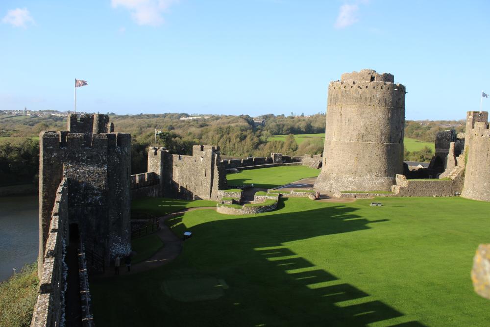 Pembroke Castle Pembrokeshire Wales