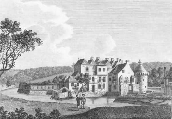 Scotney Castle Engraving 1786