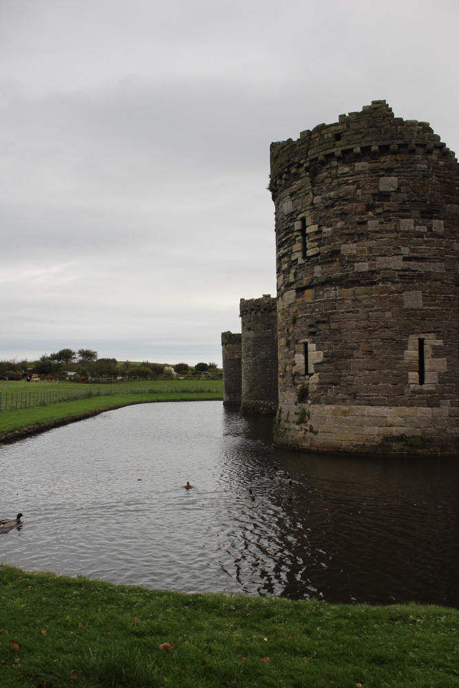 Beaumaris Castle (Anglesey, Wales)