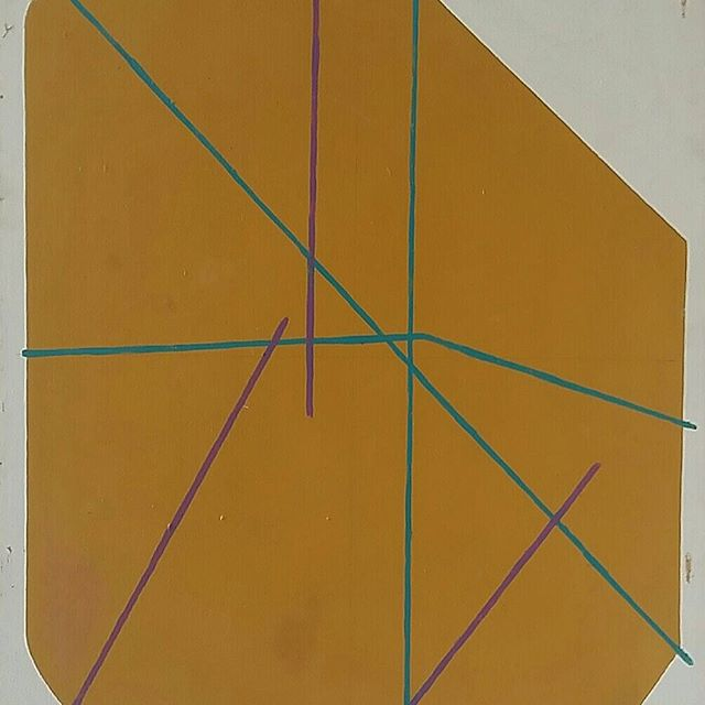#virgilpreda #art #artstagram #painting #instart #inscription #form #color #contemporaryart #constru