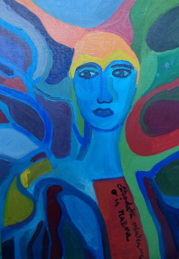 16. Razna (2014)  oil on canvas 50_70