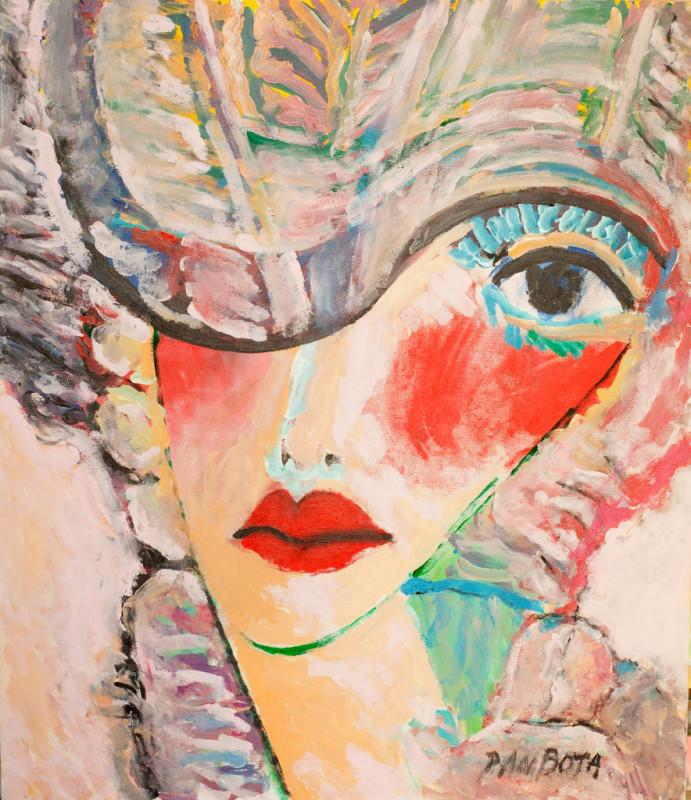 Chocheta- Huitieme lecon, acrilic on canvas, 70x60 cm, 2010
