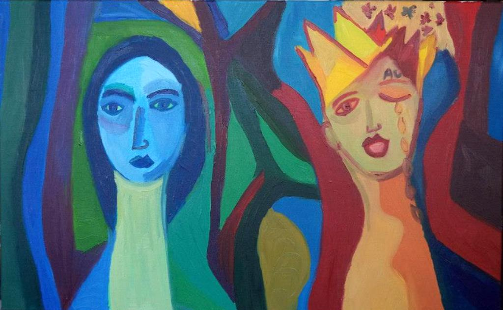 13. Lolalaloca (2014)  oil on canvas 50_70